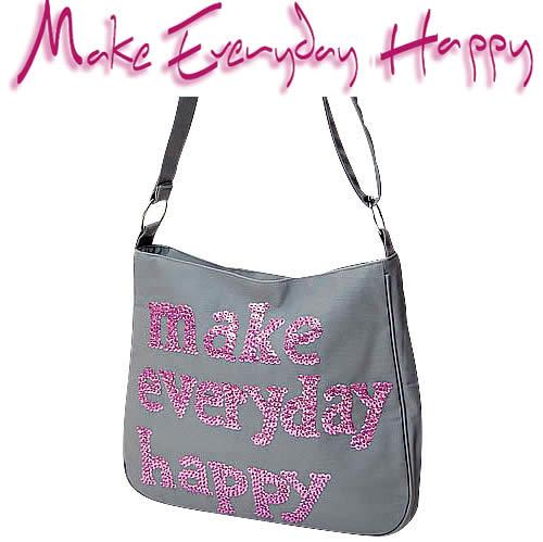 ■ Make Everyday Happy LA BESACE 라 ブザス 그레이/라일락