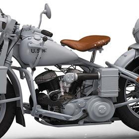 ■프랭클린 민트 1944년형 하레이다빗드손 U・네이비・밀리터리・모터 사이클 한정판