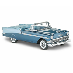 ♦ Franklin Mint 1956-Chevrolet Bel-Air convertible limited edition