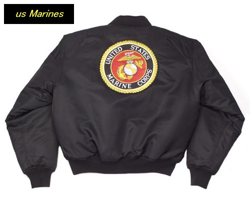 ♦ ROTHCO (Rosco) Ma-1 flight jacket print and logo embroidery
