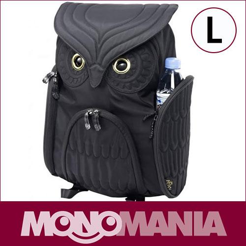 【 モーンクリエイションズ 】 OW-301 【 L 】 【 ブラック 】 ミミズククラシック・バックパック MORN CREATIONS Owls ふくろう