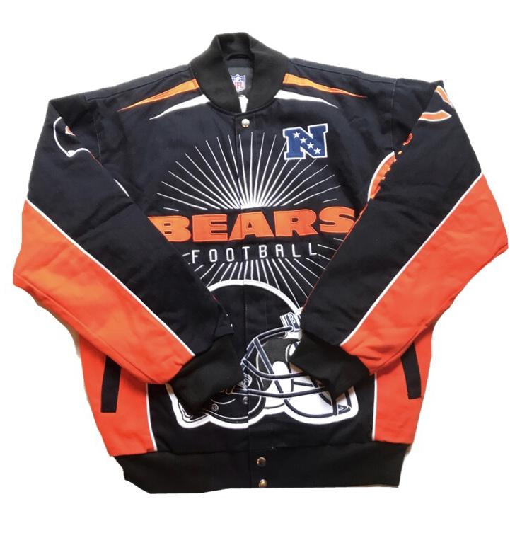 シカゴベアーズ!メンズ スタジャン NFLオフィシャル新品未使用品 ストリートファッションにおすすめ!大きいサイズ