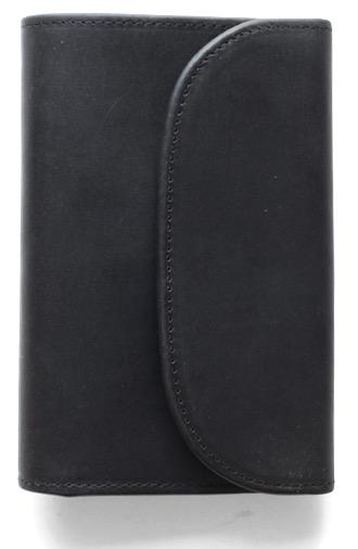 Whitehouse Cox 『ホワイトハウスコックス』SETTLER 『セトラー』 正規取扱店 ウォレット(三折)OW-1112-3 Fold Purse-Black