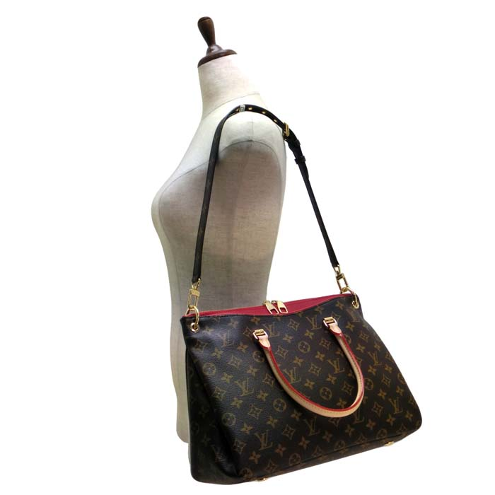 fac80cf76745  M41175  LOUIS VUITTON Louis Vuitton shoulder bag Pallas   Monogram Cerise  bags