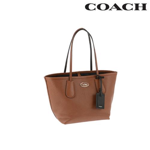 コーチ トートバッグ COACH バッグ タクシー レザー / サドル ブラウン 33577 SVSD