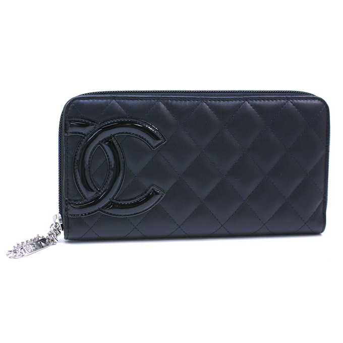 147ac8df69c6 2nd-stage: Chanel long wallet CHANEL large zip around Cambon ...