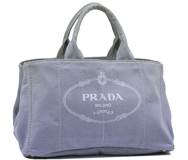 5f1274672429b5 Prada Bags PRADA tote bag denim canvas grey B1872B-DENIM-NUBE brand new  authentic ...