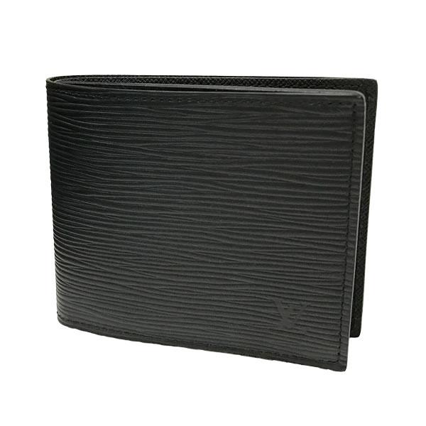 ルイヴィトン財布LOUISVUITTON二つ折り財布ポルトフォイユマルコNMエピノワールM62289