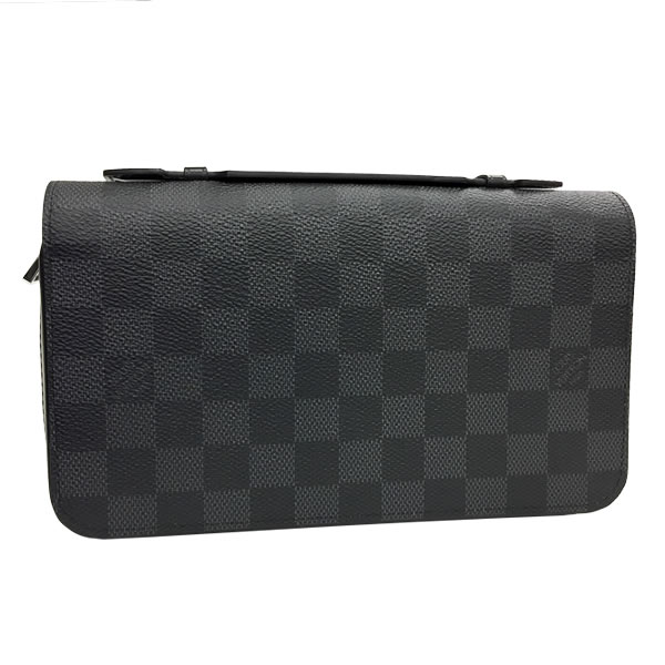 1a14198a4a59 ルイヴィトン 長財布 LOUIS VUITTON ラウンドファスナー ジッピーXL ダミエ グラフィット N41503 ルイ