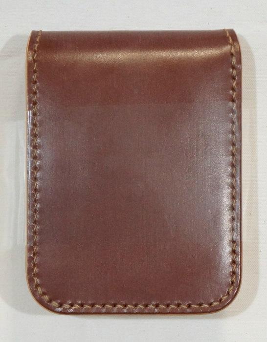 BD-CS-camel natural - bridle leather specifications CS-BDCS-kurobane (CROW: Crow) haefvoretto (short wallet: 2 fold wallet)