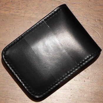 CS-ブラック-CSハーフウォレット-黒羽(CROW:クロウ)(ショートウォレット:二つ折り財布)【送料無料】【smtb-tk】