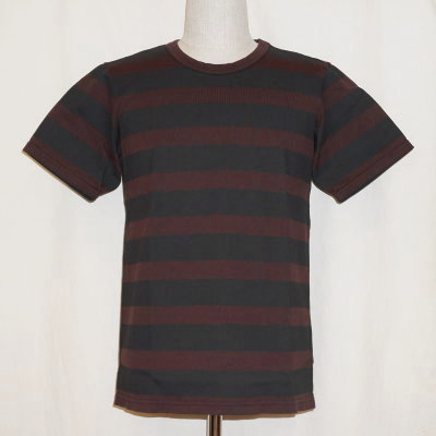 FOVER-ブラウン-Tシャツ-フォバー-DELUXEWARE-Gremen&Vill.Eight-デラックスウエアTシャツ-グレメンアンドビルエイトTシャツ【送料無料】【smtb-tk】