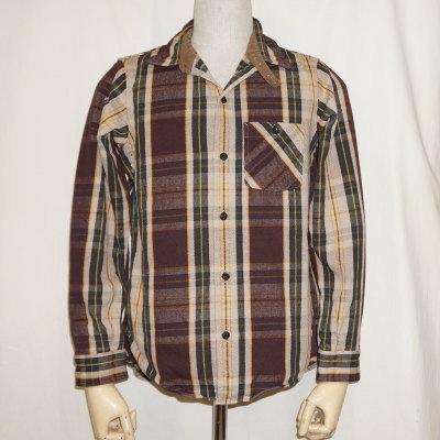 HV-28-1948s AUTUMN-HV28-DELUXEWARE-デラックスウエアヘビーネルシャツ-チェックシャツ-シャツ長袖【送料無料】【smtb-tk】