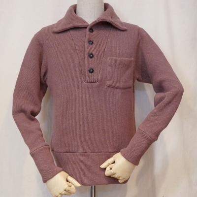 GALLO-レッド-30s CHIN-KNIT shirt-DELUXEWARE-デラックスウエアニット長袖シャツ-DALEE'S-ダリーズニット長袖シャツ【送料無料】【smtb-tk】