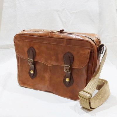 DLB-011-CAM-LEATHER BAG-DLB011-DELUXEWARE-デラックスウエアバッグ-鞄【送料無料】【smtb-tk】