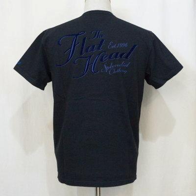 F-THV-003-ブラック-TH Vネック SPLENDID CLOTHING-FTHV003-FLATHEAD-フラットヘッドTシャツ【送料無料】【smtb-tk】