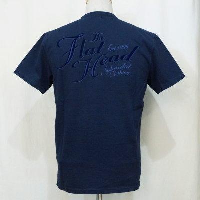 F-THV-003-ネイビー-TH Vネック SPLENDID CLOTHING-FTHV003-FLATHEAD-フラットヘッドTシャツ【送料無料】【smtb-tk】