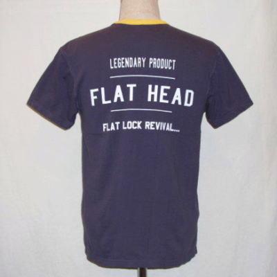 FVT-03W-ナスコンイエロー-FVTフラットロックTシャツ03-FVT03W-FLATHEAD-フラットヘッドTシャツ【送料無料】【smtb-tk】
