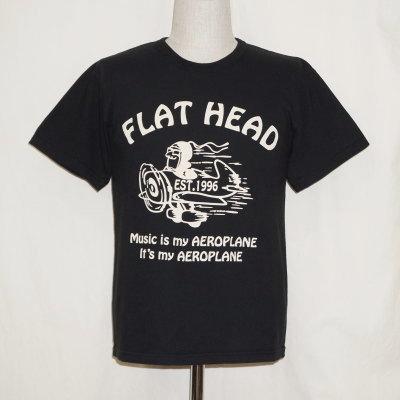 TKT-020-ブラック-フラットヘッドTシャツTKT系020-TKT020-FLATHEAD-フラットヘッドTシャツ-TKT系-半袖Tシャツ【送料無料】【smtb-tk】