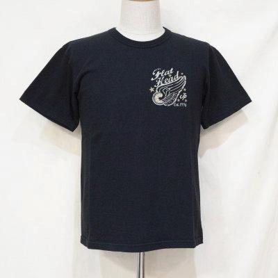TKT-209-BK-フラットヘッドTシャツTKT系209-TKT209-FLATHEAD-フラットヘッドTシャツ-TKT系-半袖Tシャツ【送料無料】【smtb-tk】