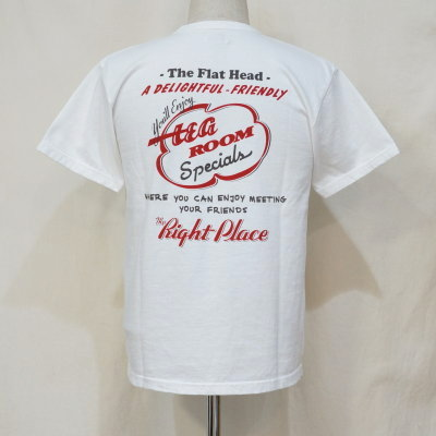 TKT-215-ホワイト-フラットヘッドTシャツTKT系215-TKT215-FLATHEAD-フラットヘッドTシャツ-TKT系-半袖Tシャツ【送料無料】【smtb-tk】