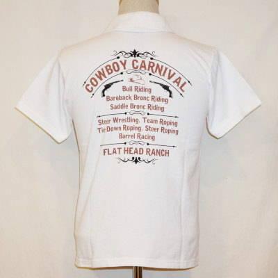 TNV-05W-ホワイト-CARNIVAL-TNV05W-FLATHEAD-フラットヘッドTシャツ-フラットヘッドポロシャツ-BLACKMINT-ブラックミントTシャツ-ブラックミントポロシャツ【送料無料】【smtb-tk】