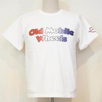TD-48W-ホワイト-OLD MOBILE-TD48W-FLATHEAD-フラットヘッドTシャツ-GLORYPARK-グローリーパークTシャツ【送料無料】【smtb-tk】