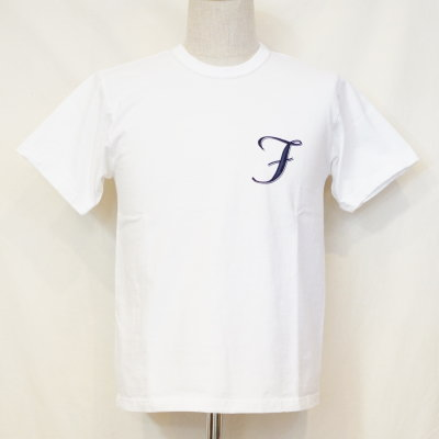 THC-168-화이트-TFH&CO-THC168-FLATHEAD-나비 T 셔츠