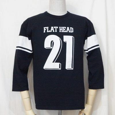 F-TKTF-001-BK-フットボールTシャツ・七分袖Tシャツ001-FTKTF001-七分袖Tシャツ【送料無料】【smtb-tk】