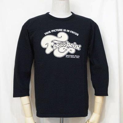 F-TKTF-002-BK-フットボールTシャツ・七分袖Tシャツ002-FTKTF002-七分袖Tシャツ【送料無料】【smtb-tk】