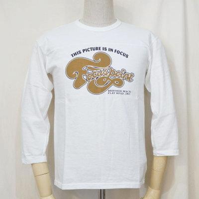F-TKTF-002-WH-フットボールTシャツ・七分袖Tシャツ002-FTKTF002-七分袖Tシャツ【送料無料】【smtb-tk】