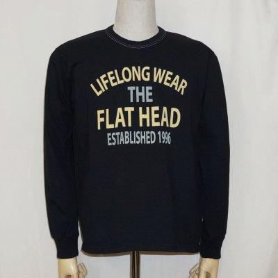 F-THCL-207-ブラック-フラットヘッドロングTシャツ207-FTHCL207-FLATHEAD-フラットヘッドロングスリーブTシャツ-長袖Tシャツ-ロンT【送料無料】【smtb-tk】