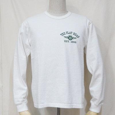 FN-THCL-211-WH-フラットヘッドロングTシャツ211-FNTHCL211-FLATHEAD-フラットヘッドロングスリーブTシャツ-長袖Tシャツ-ロンT【送料無料】【smtb-tk】