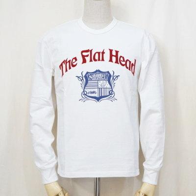 F-THCL-004-ホワイト-SPLENDID CLOTHING-FTHCL004-FLATHEAD-フラットヘッドロングスリーブTシャツ-長袖Tシャツ-ロンT【送料無料】【smtb-tk】