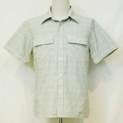 CO-30HW-グリーン-チェックワークシャツ30半袖-CO30HW-FLATHEAD-フラットヘッドシャツ【送料無料】【smtb-tk】
