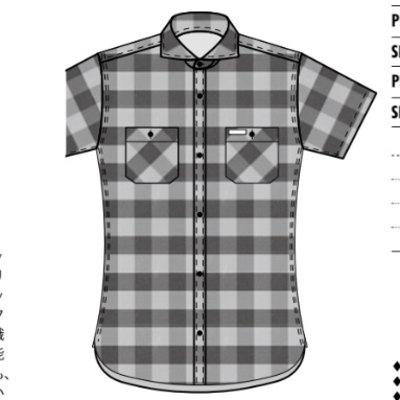 先行予約受付中!F-SCS-211S-ブロックチェックシャツ211S半袖-FSCS211S-FLATHEAD-フラットヘッドワークシャツ-チェックシャツ-格子柄【送料無料】【smtb-tk】