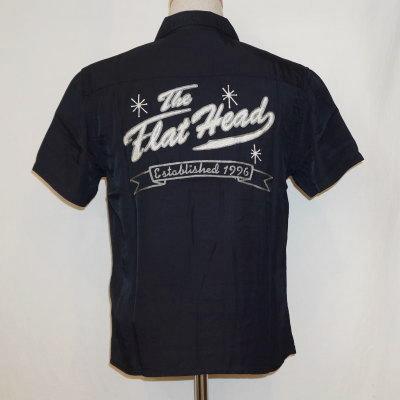 F-SRO-003S-ブラックピンク-THE FLAT HEAD-FSRO003S-FLATHEAD-フラットヘッドレーヨンシャツ-ボーリングシャツ-シャツ半袖【送料無料】【smtb-tk】