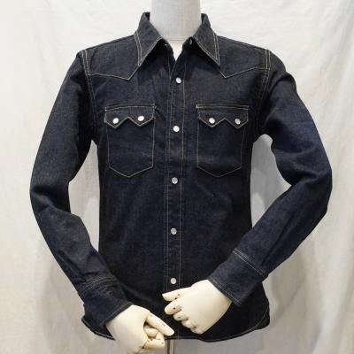 7002W-50sウエスタンシャツ長袖-FLATHEAD-フラットヘッドデニムシャツ-長袖シャツ【送料無料】【smtb-tk】