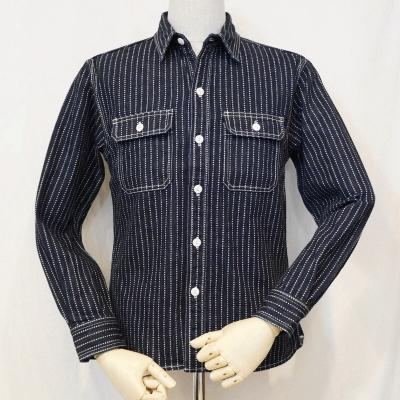 7014WR-ウォバッシュワークシャツ長袖7014レギュラーサイズ-FLATHEAD-フラットヘッドデニムシャツ【送料無料】【smtb-tk】