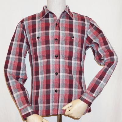 HN-72W-レッド-ヘビーネルワークシャツ72-HN72W-FLATHEAD-フラットヘッドシャツ-【送料無料】【smtb-tk】