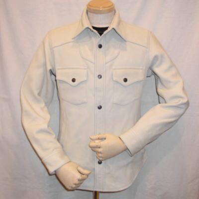 FSD-32-ホワイト-ディアスキンシャツジャケット32-FSD32-FLATHEAD-フラットヘッドディアスキンシャツジャケット【送料無料】【smtb-tk】
