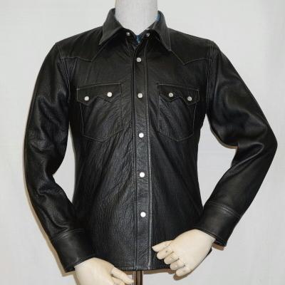 FSD-04K-ブラック-ディアスキンシャツジャケット04K-FSD04K-FLATHEAD-フラットヘッドディアスキンシャツジャケット【送料無料】【smtb-tk】