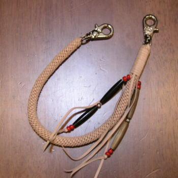 BM-03-SD-6本ツイスト編みロープホルダー-BM03-FLATHEAD-フラットヘッドウォレットロープホルダー【送料無料】【smtb-tk】