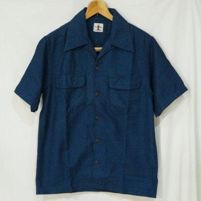 SOS18-S01(USED)-ID-サイズL-オープンカラー半袖シャツS01の中古品-SOS18S01(USED)-SAMURAIJEANS-サムライジーンズ【送料無料】【smtb-tk】