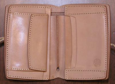 PHILOS-01B-フィロスハーフウォレット 01 B-PHILOS 01B-REDMOON-レッドムーンハーフウォレット ( short wallet: 2 fold wallet)