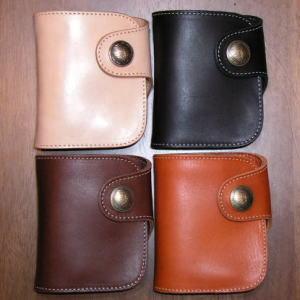HR-01A-ホースライディングオリジナルコイン - HR 01A-REDMOON-レッドムーンハーフウォレット ( short wallet: 2 fold wallet) most popular fs2gm
