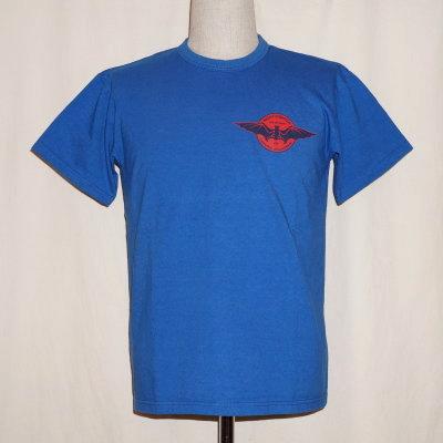 SFT17-101-蓝色-武士飞机俱乐部短袖T恤17-101-SFT17101-SAMURAIJEANS-武士牛仔裤T恤-武士飞机俱乐部短袖T恤