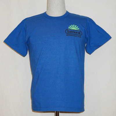 MCT15-101-蓝-衬衫短袖 T,武士摩托车俱乐部 15-101-MCT15101-SAMURAIJEANS-武士牛仔裤 T 衬衫-武士摩托车俱乐部 t 恤