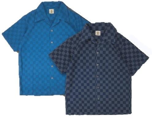 SOS20-S01-オープンカラー半袖シャツ20-S01-SOS20S01-SAMURAIJEANS-サムライジーンズ-サムライジーンズオープンカラーシャツ【送料無料】【smtb-tk】