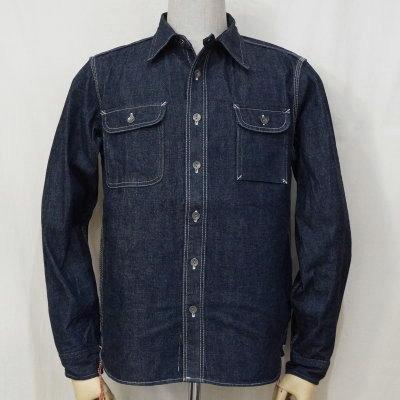 SDS19-01-ID-デニムワークシャツ19-01-SDS1901-SAMURAIJEANS-サムライジーンズワークシャツ【送料無料】【smtb-tk】